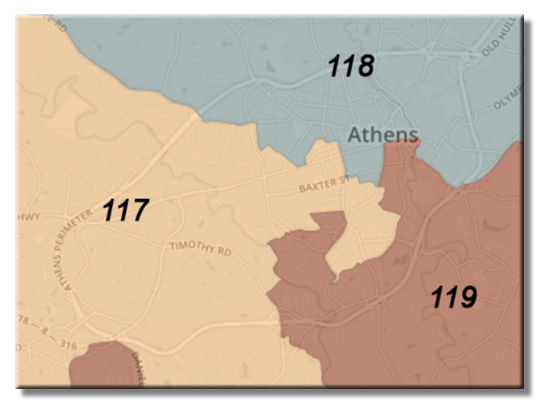 state house districts in athens