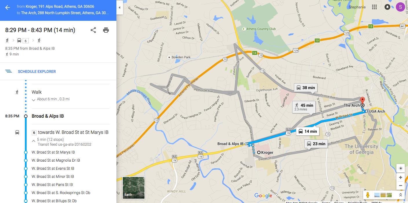 Athens Transit Now On Google Maps Athens For Everyone - Ga map google