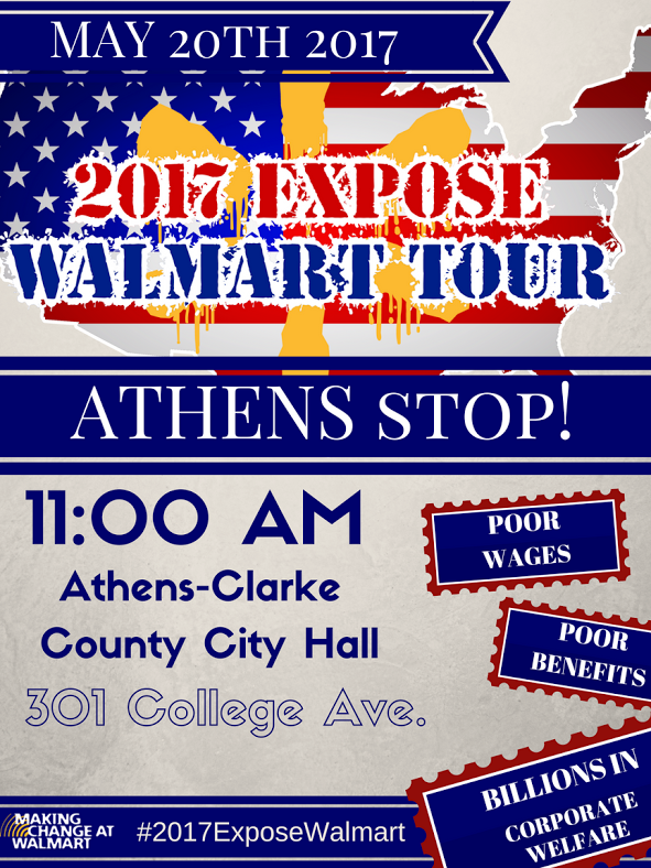 expose walmart tour athens for everyone