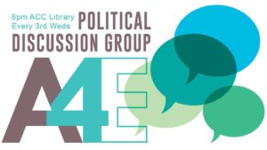 Political Discussion Group @ ACC Library, room C | Athens | Georgia | United States
