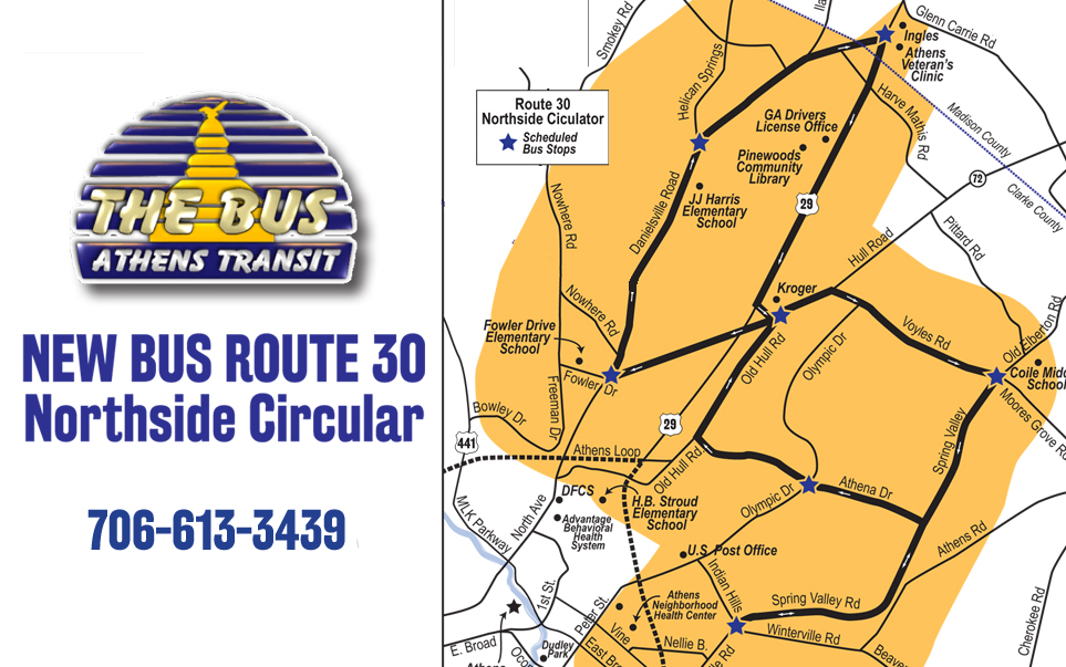 Bus Service Expanded To US 29