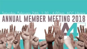 2018 Annual Member Meeting @ ACC Library | Athens | Georgia | United States