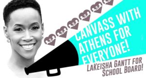 Canvass for LaKeisha Gantt! @ A4E office | Athens | Georgia | United States