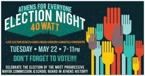 Election Night Watch Party @ 40 Watt Club