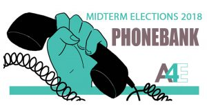 Midterm Elections: Phonebank with A4E @ A4E office | Athens | Georgia | United States